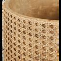 Pot en béton H26cm-Caneli
