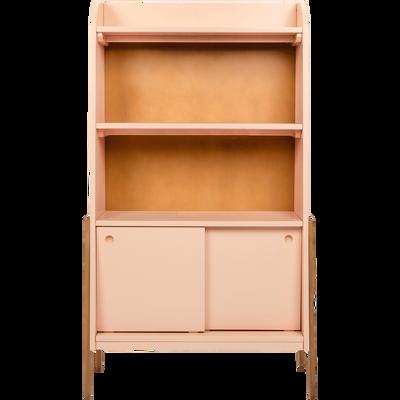 biblioth que en acacia pour enfant bleu figuerolles raphael tag res et biblioth ques enfant. Black Bedroom Furniture Sets. Home Design Ideas
