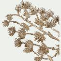 Branchage déco - 38x3X12cm doré-MATTEU