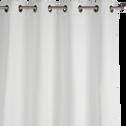 Rideau occultant à oeillets blanc ventoux 140x250cm-GORDES