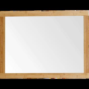 Miroir rectangulaire de salle de bains en bambou 80cm-Danong