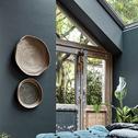 Décoration murale en jute D40cm vert cèdre-Sill