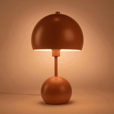 Lampe à poser forme champignon - rose salina h34,50cm-Bali