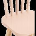 Chaise enfant en hêtre massif Sable rosé-HELGA