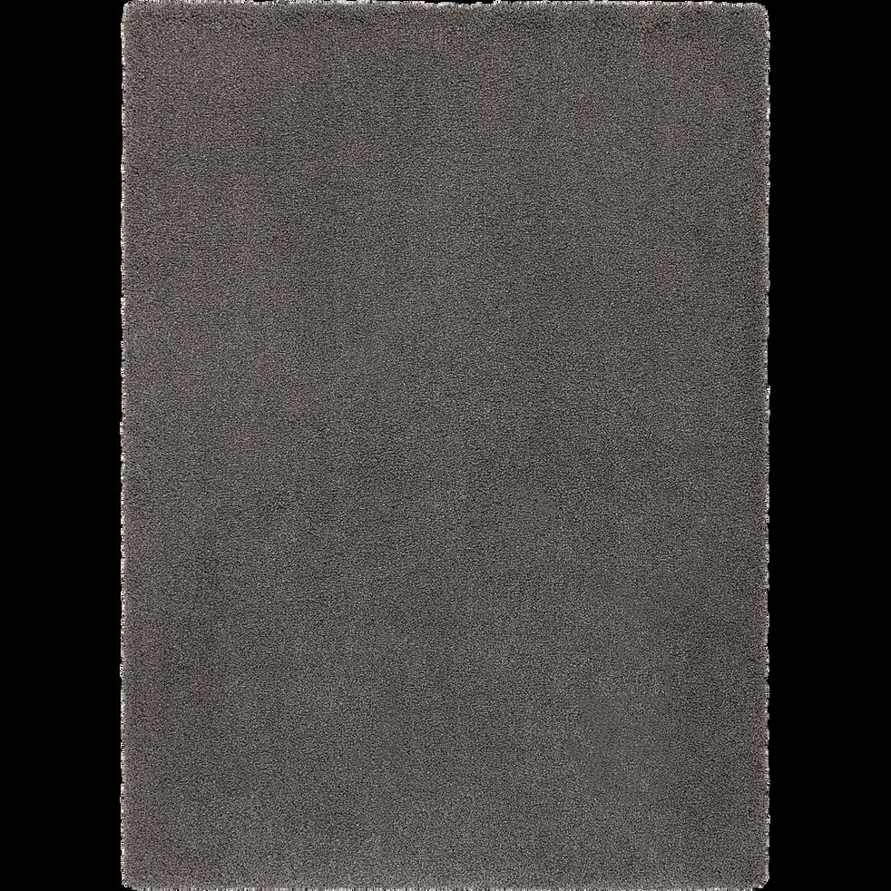 Tapis mèches longues Gris restanque 120x170 cm-LOUNA