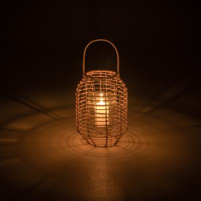 Lanterne rotin H36cm-MIT