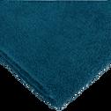 Drap de bain 100x150 cm Bleu figuerolles-ZELLIA