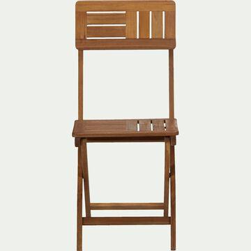 Chaise de jardin pliante en acacia huilé-Youk