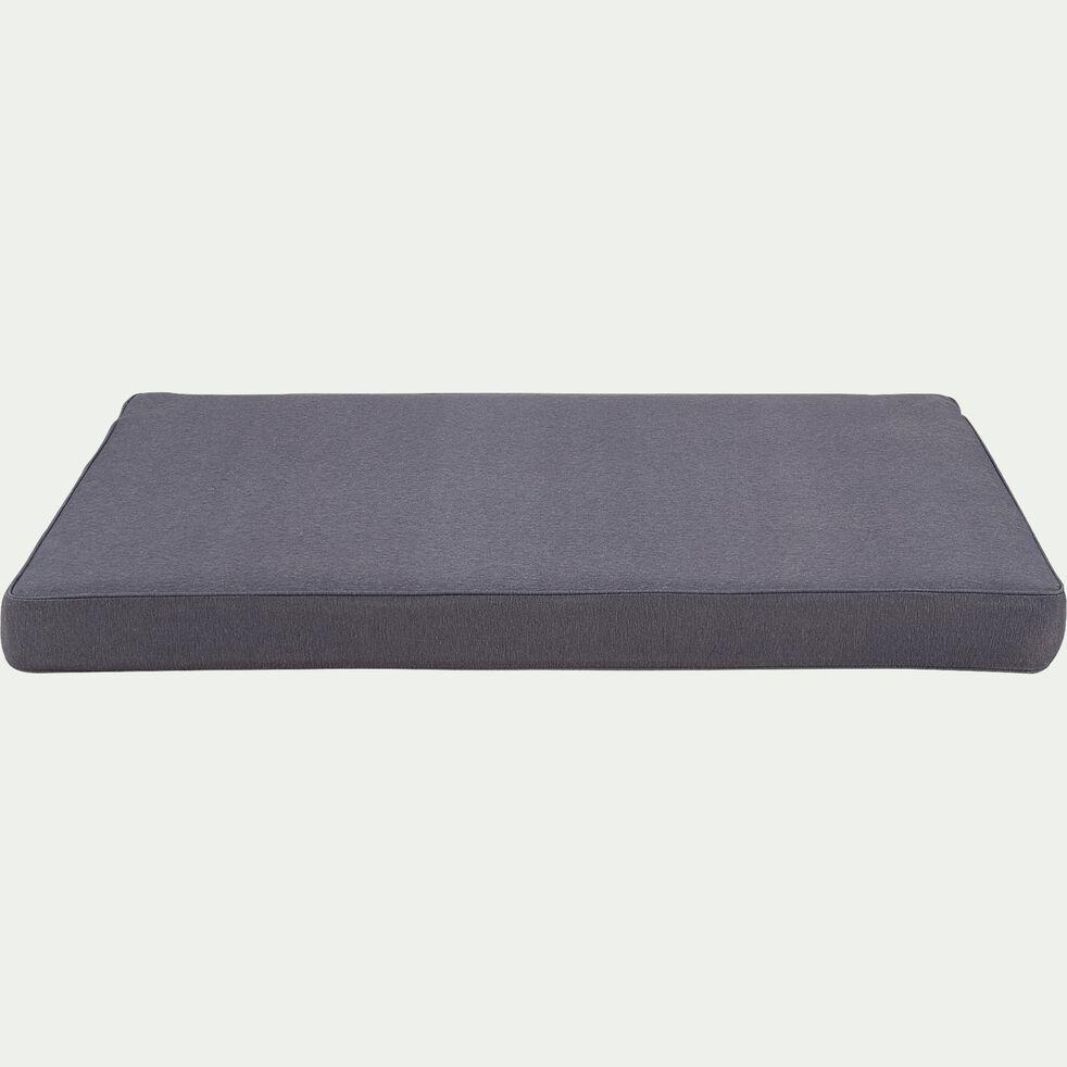 Coussin pour palette en tissu - Gris ardoise 120x80cm-IRUN