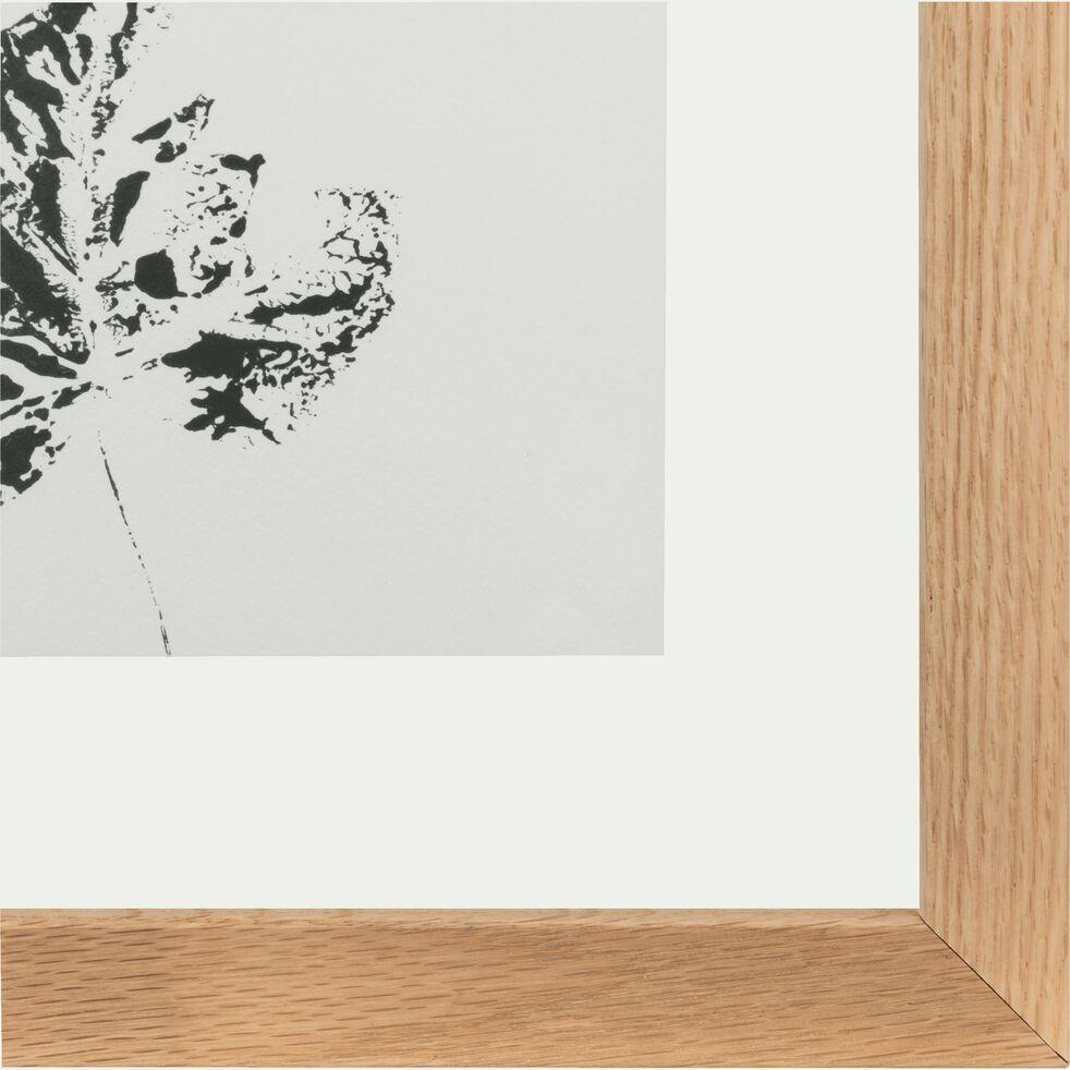 Image encadrée 34x44cm-NATAQUA