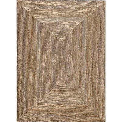 Tapis tressé en jute - 120x170 cm-RUSH