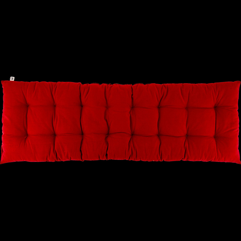 Coussin d'assise pour banc rouge sumac 12