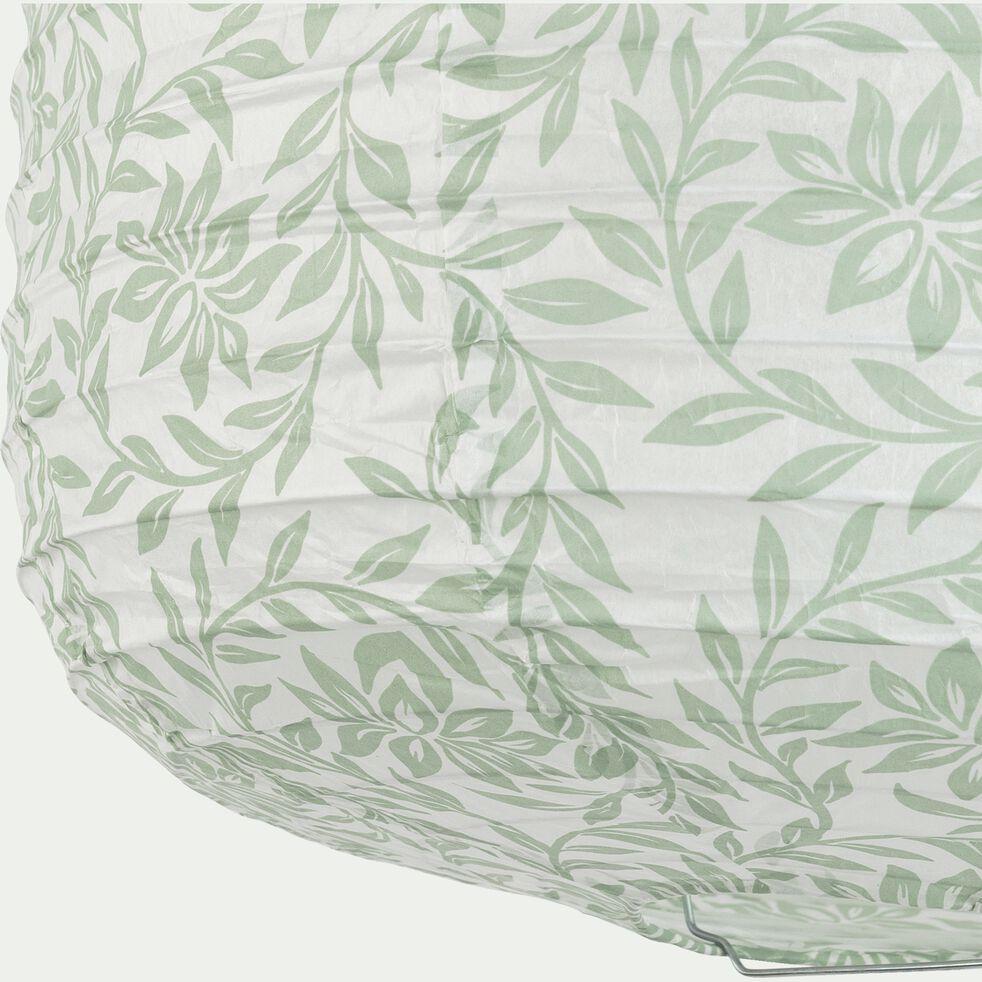 Suspension en papier - motif jasmin D27xH32cm-ALOU