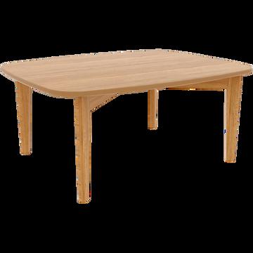 Table basse plaquée chêne-SIWA