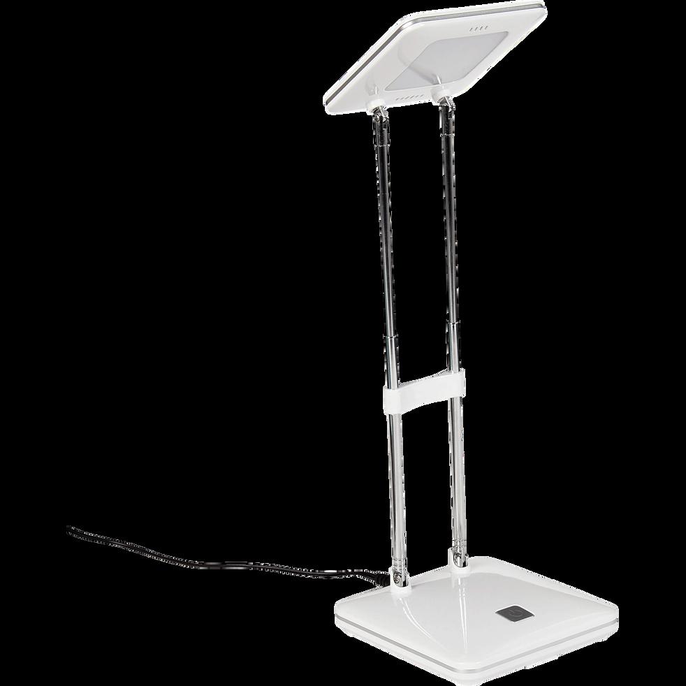 lampe de bureau blanche led h31cm fanny lampes alinea. Black Bedroom Furniture Sets. Home Design Ideas