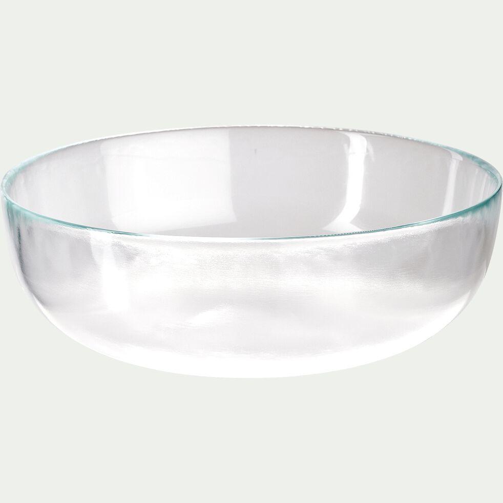 Saladier en verre strié D27cm-ATLAS