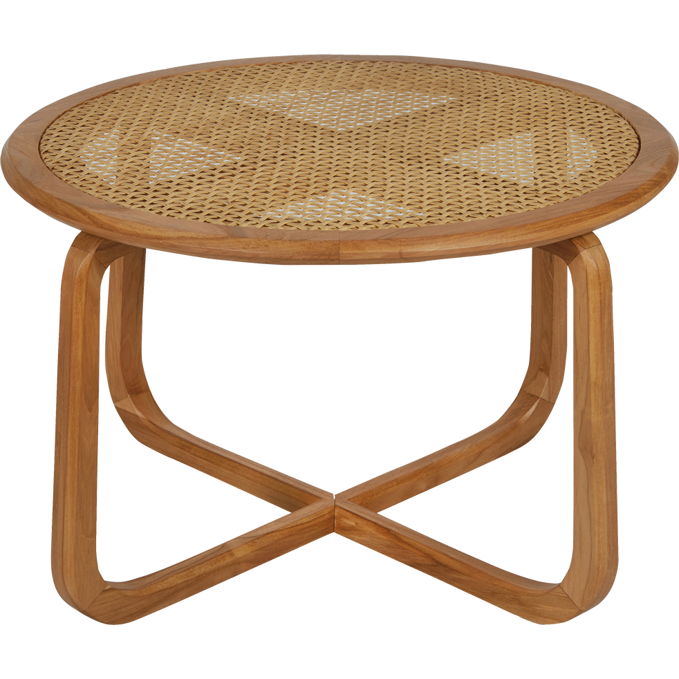 Table basse de jardin en teck massif - GRIMAUD - tables basses de ...
