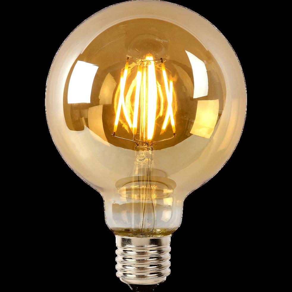 ampoule d corative filament forme globe d9 5 cm culot e27 amp cosmo ampoules d coratives. Black Bedroom Furniture Sets. Home Design Ideas