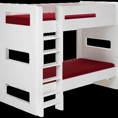 Lits superpos s chambre enfants lits avec rangements alinea alinea - Lits superposes avec rangements ...