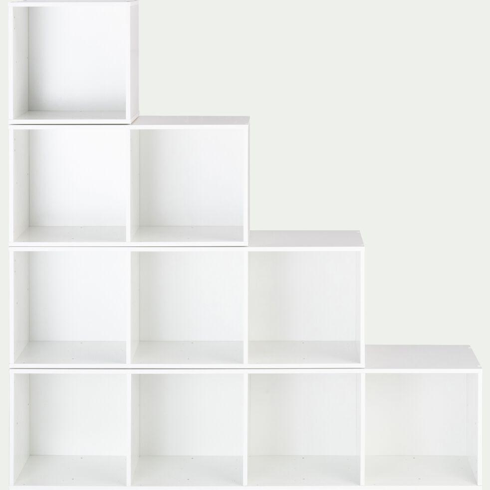 Bibliothèque enfant en bois- blanc-ZAC