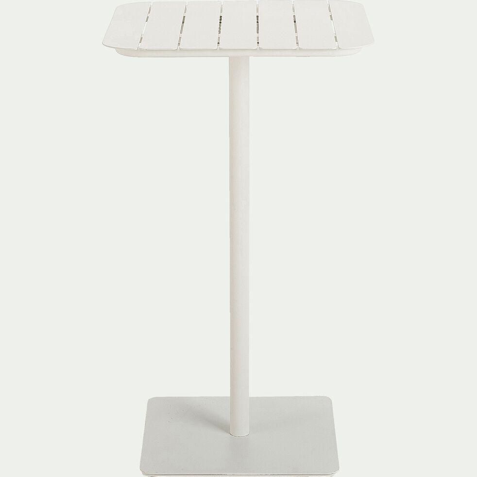 Mange-debout de jardin en aluminium - blanc (2 places)-PARADOU