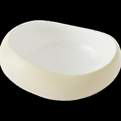 Coupelle en grès blanc ventoux D14cm-KYMA