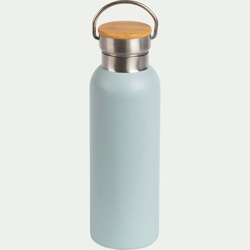 Bouteille en inox Bleu calaluna 0,5L-Coucourdo