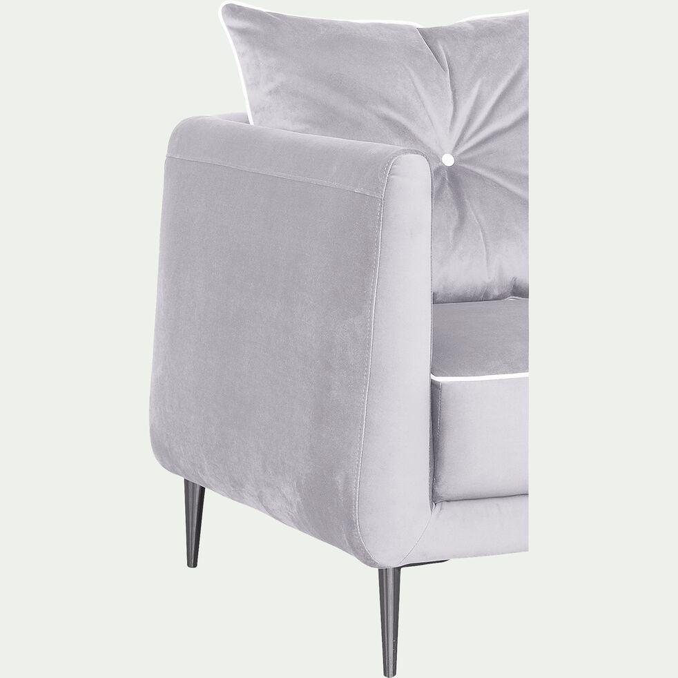 Fauteuil en tissu gris borie-ASTELLO