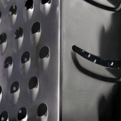 Râpe 4 faces en inox noir-MASCARA