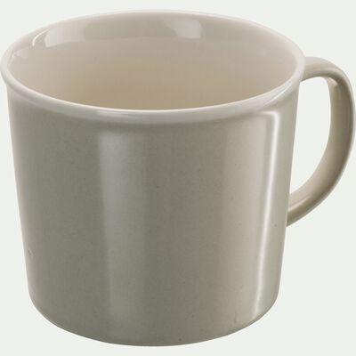 Mug en porcelaine beige roucas 35cl-CAFI