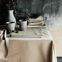 Set de table en coton vert olivier 30x45cm-VENASQUE