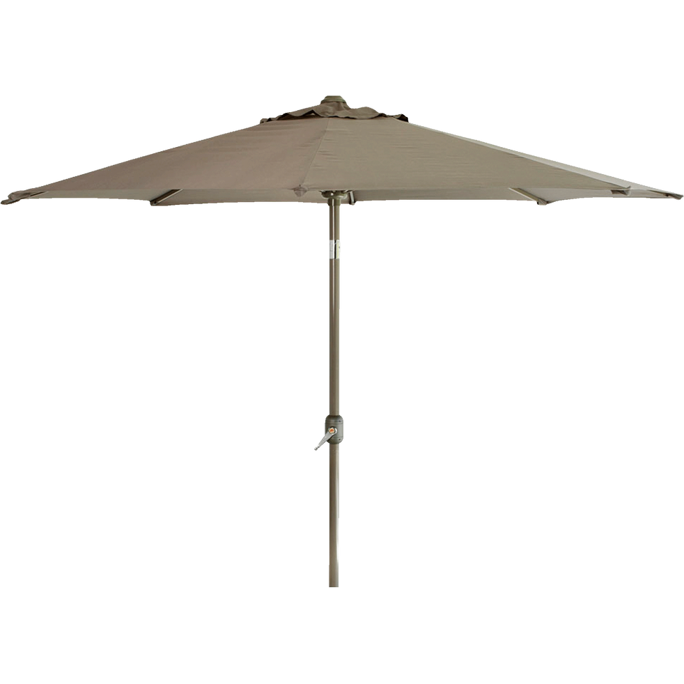 parasol orientable manivelle tomeo parasols et voiles d 39 ombrage alinea. Black Bedroom Furniture Sets. Home Design Ideas