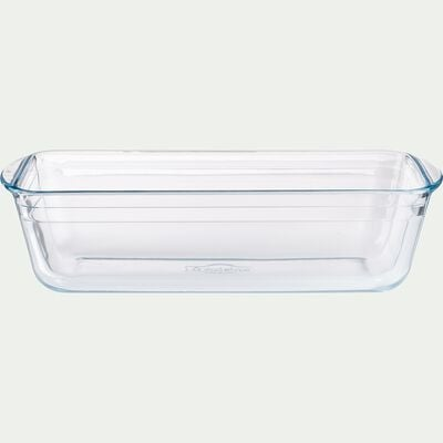 Moule à cake en verre borosilicate 28cm-AZET