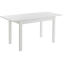 Table de repas blanche extensible - 4 à 6 places-YVON