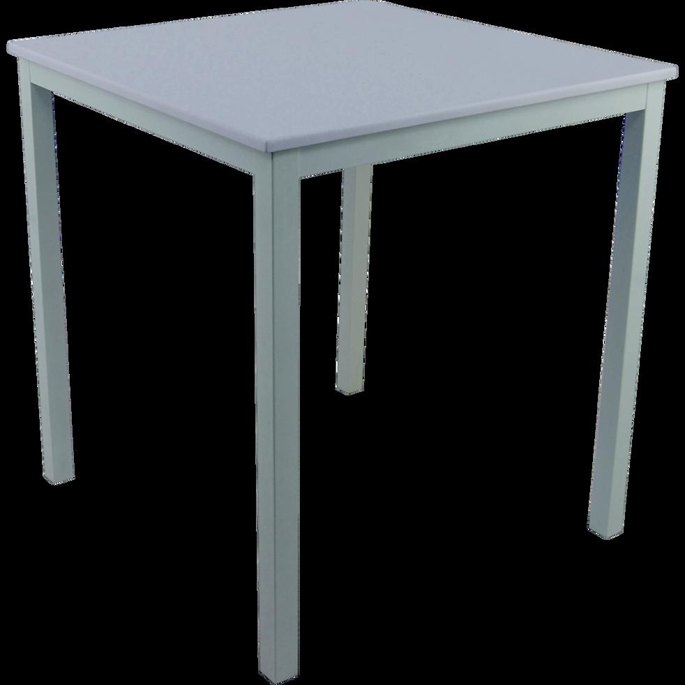 table de repas carr e blanche 4 places rejane 70x70cm tables fixes alinea. Black Bedroom Furniture Sets. Home Design Ideas