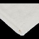 Lot de 2 gants de toilette blanc ventoux-AMBIN