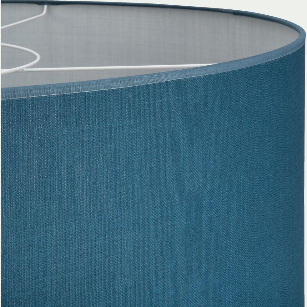 Suspension cylindrique en coton - D75cm bleu figuerolles-MISTRAL