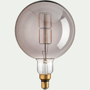 Ampoule déco à filament LED globe - D20cm teintée-GLOBE