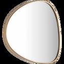 Miroir doré H75xl60cm-TIBRE