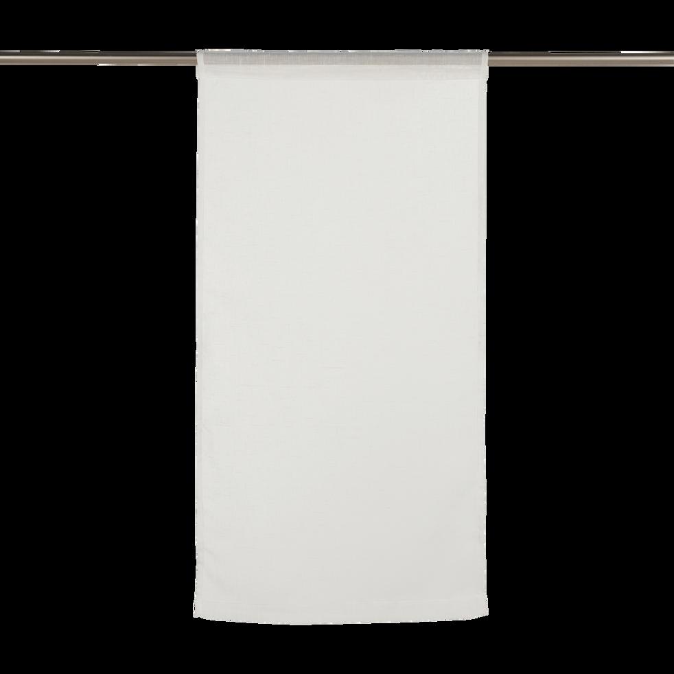 Vitrage blanc ventoux - Plusieurs tailles-DUNE