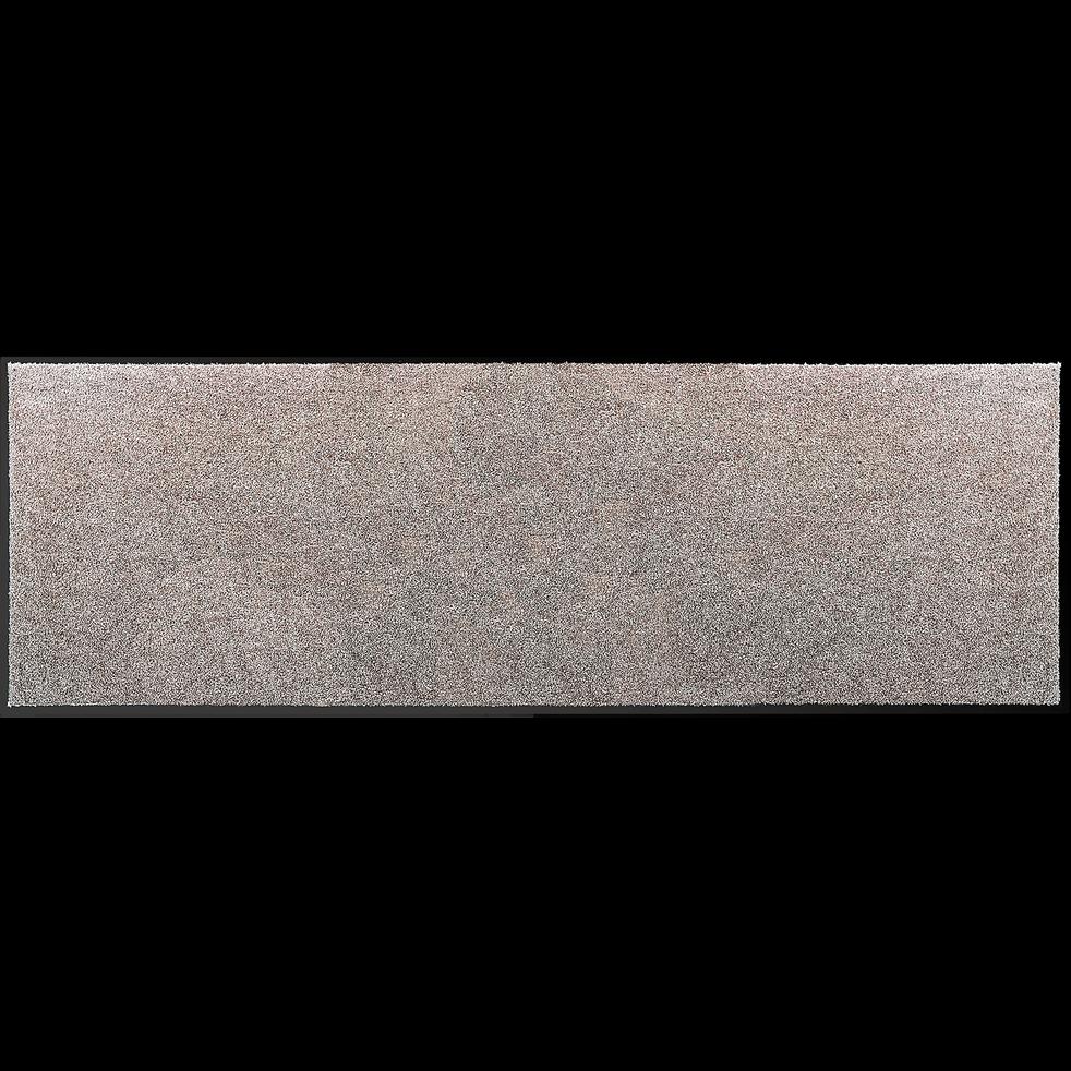 Tapis de couloir gris clair 60x180cm-BEN