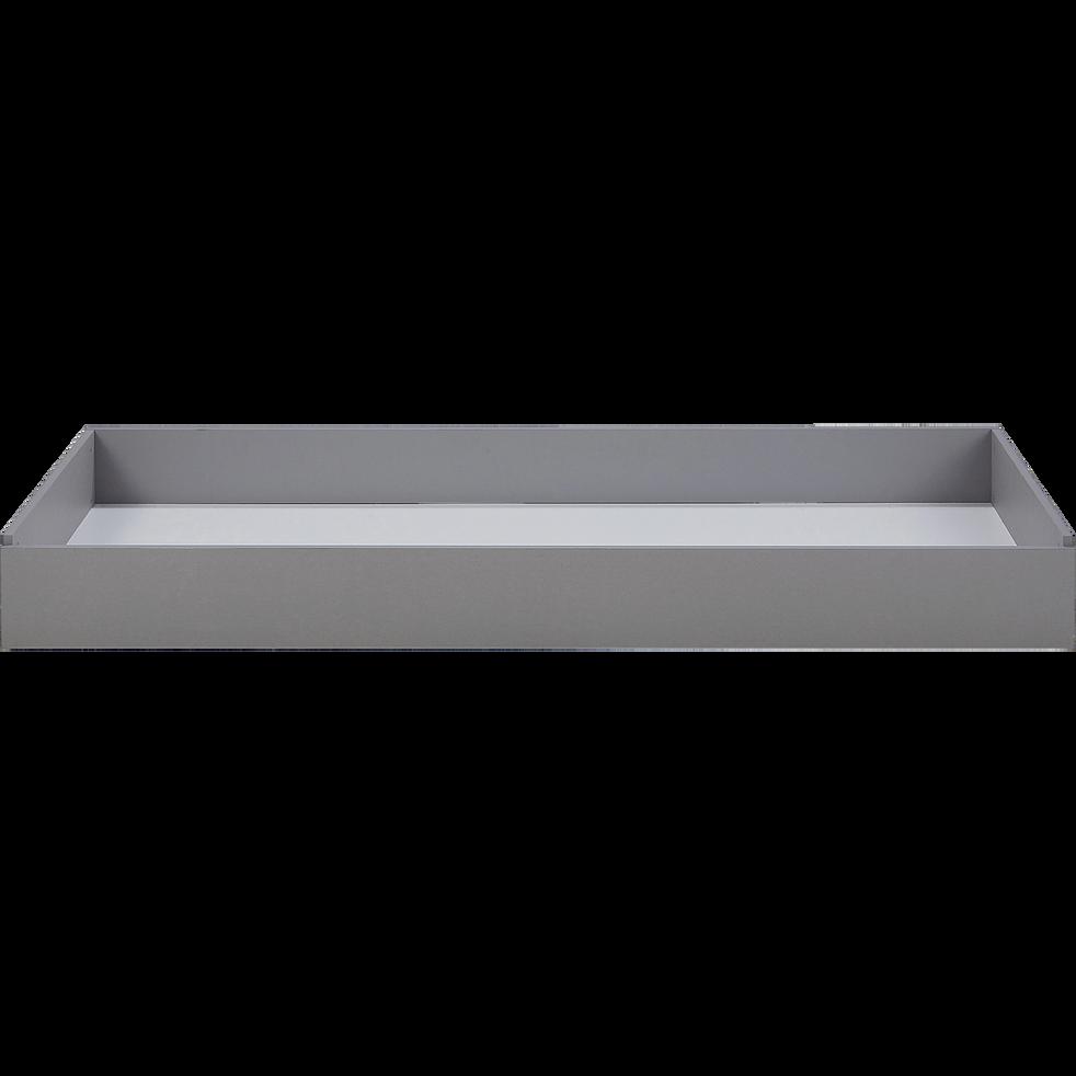 Tiroir pour lit Castel gris -  noir-CASTEL