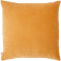 Coussin en velours beige nèfle 45x45cm-EDEN
