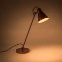 Lampe à poser rouge sumac H65cm-BEYA