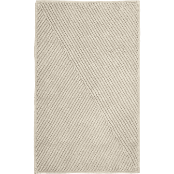 Tapis de bain en coton Taupe 50x80 cm-HUPPE