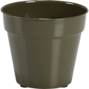Cache-pot vert cèdre en fer D19xH17cm-FLORA