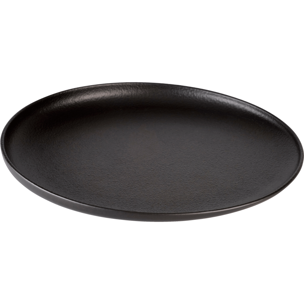 Assiette plate en porcelaine qualité hôtelière D27cm-TARA