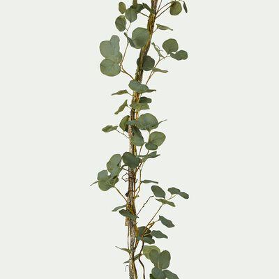 Branchage artificiel eucalyptus grimpant - vert L150cm-TIGE