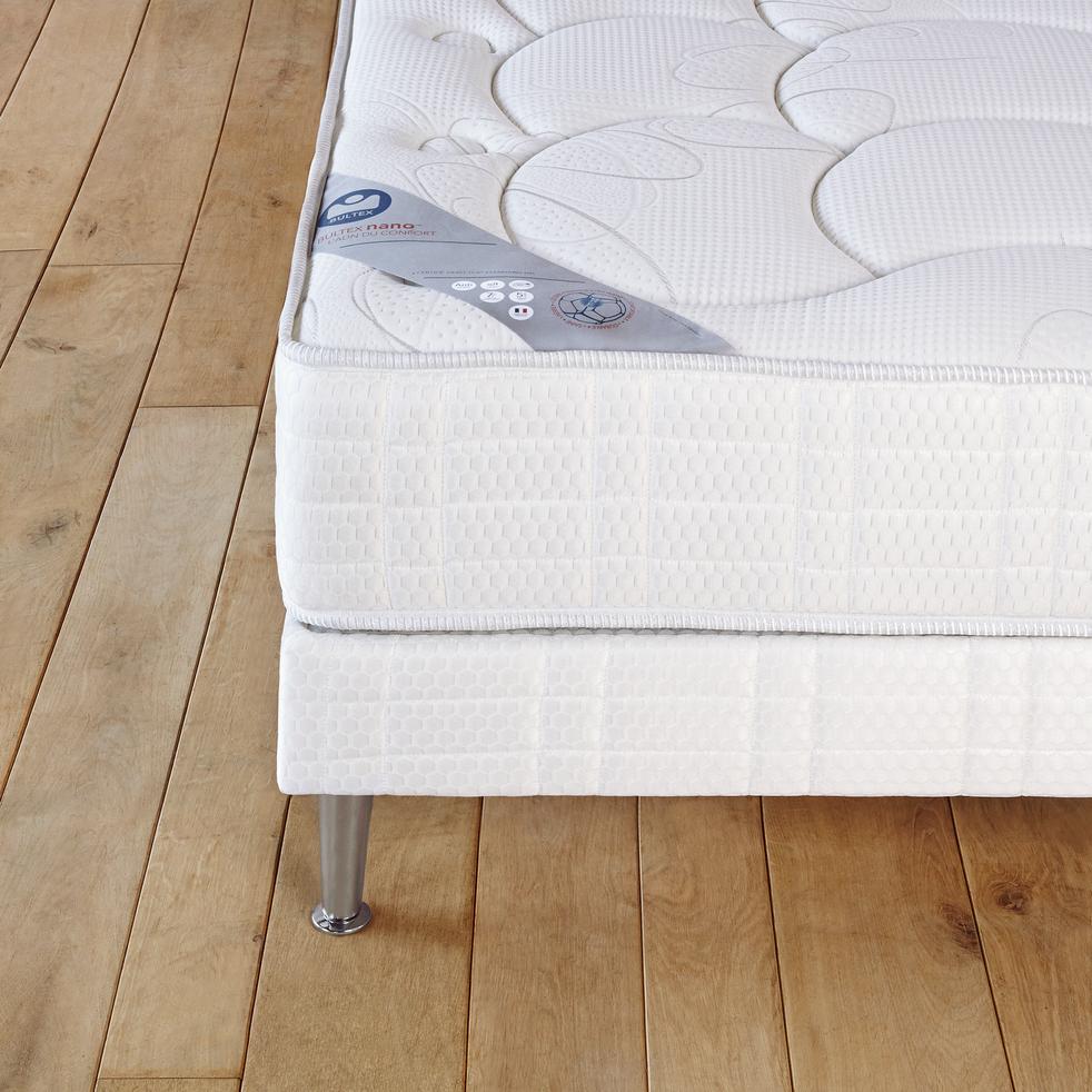 sommier tapissier bultex 14 cm 140x190 cm ideal 140x190 cm alinea. Black Bedroom Furniture Sets. Home Design Ideas