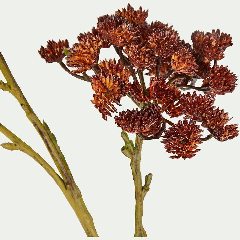 Fleur artificielle - rouge H76cm-TIGE
